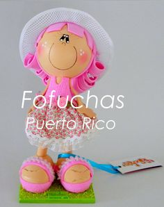 Beautiful Fofucha Dolls by FofuchasPR on Etsy, $39.95
