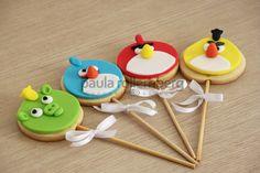 Biscoitos Angry Birds