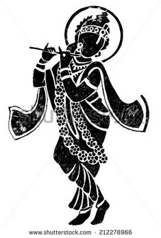 Indian god Krishna