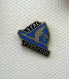 Stal Rzeszow of Poland, another exquisite little pin badge of striking design.