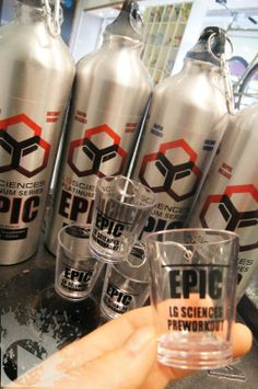 Brand New! The pre-workout that hits you in 60 seconds, Epic by LG Sciences LLC. Are you brave enough to try the insanity dosage? It's going to be Epic Vodka Bottle, Brave, Science, Workout, Drinks, Products, Beverages, Work Outs, Drink