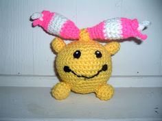 Crocheted Chingling! Free pattern.