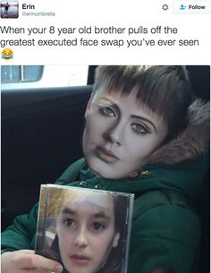 The greatest face-swap of all time.