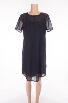 LULULEMON Ready To Reach Dress 8 M Black Lightweight Office Travel Commute #Lululemon #AthleticDresses #Casual