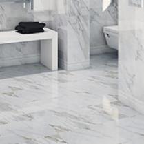 wickes avellino cappuccino grey ceramic tile 360 x 275mm grey