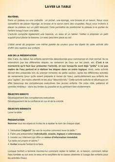 Maria Montessori, Practical Life, Genre, Table, Concert, Montessori Kindergarten, Working Memory, Kindergarten Classroom, Real Life