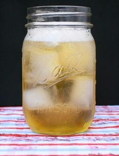 """Super easy & tastes amazing!   """"Porchcrawler""""  1 bottle of your favorite Vodka 18 pack of lite Beer 4-8 cans of Lemonade concentrate  Mix the vodka & beer in a large cooler or container. Add lemonade one can at a time until you get the taste you like. Add ice, chill & serve! Great for backyard parties, bonfires, tailgates or camping!"""