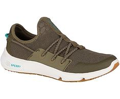 Women's Sperry 7 SEAS Bungee Active, Olive