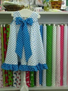 Iva Leigh pattern by Bonnie Blue Designs, lots of great sample garments on the Peanut Butter & Jelly Kids site