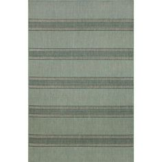 "Horizontal Stripe Outdoor Rugs 4'11"" x 7'6"" $99.99"
