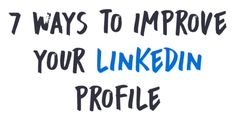 LinkedIn is an incredibly powerful tool, especially in this day and age,  where more and more companies are looking for potential employees online.  However, simply creating a profile and entering the bare minimum of  information is not enough. You need to make the most out of LinkedIn's full  potential if you are serious about finding a job.