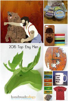 top 50 men of etsy