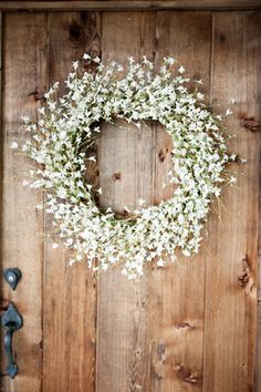 Baby's breath wreath (Jamie Clayton)