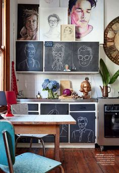 Creative Home in Cape Town | Photo by Alexander Van Berge for Elle Decoration South Africa