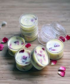 DIY Beauty: Floral lip balm