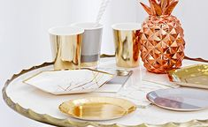 Modern Metallics – Build a Birthday Online Party Supplies, 21st Party, New Years Eve Party, Perfect Party, Corporate Events, Candle Holders, Just For You, Candles, Metal
