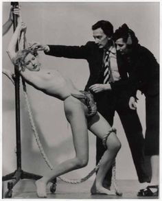 - Salvador Dali, Wife Gala, & a Strategically Placed Lobster For Dali's Dream of Venus exhibit, 1939 World's Fair Photo by Murray Korman