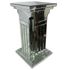 Splendid Modern Wooden & Glass Column