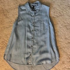Forever 21 Jean top BRAND NEW W/OUT TAGS Forever 21 Tops Tank Tops
