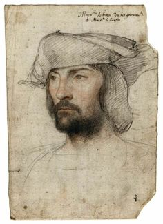François-Jean Lefebvre de la Barre, by Hans Holbein The Younger Life Drawing, Figure Drawing, Drawing Sketches, Painting & Drawing, Art Drawings, Renaissance Kunst, Renaissance Portraits, L'art Du Portrait, Portrait Sketches