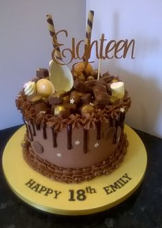 21 Best 18th 21st Birthday Cakes For Girls Images In 2019 21