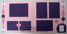 Stamping to Share: 5/4 Stampin' Up! 12x12 Everything Nice & a Confirmation