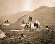 Flathead camp 1885