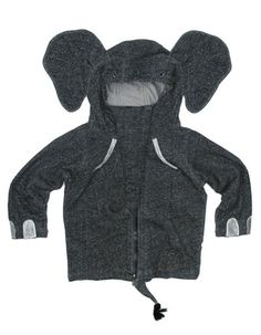 Inspiration for making an elephant hoodie for a costume