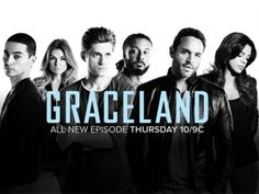 Graceland--A little gritty, but awesome cast!  We can only hope the real FBI and DEA work as hard to make the United States as strong and drug free as these guys do!  One of the main characters, Aaron Tviet who plays Michael Warren, exhibits an intelligent, quiet strength that's so sexy!  Love this show!