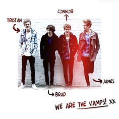 bradley+simpson+the+vamps | bradley will simpson, connor ball, james mcvey, the vamps