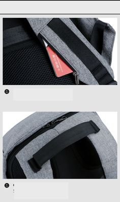 39886555f0ee ... ноутбука размером 15,6 дюймов, многофункциональный водонепроницаемый  дорожный рюкзак для женщин, школьный рюкзак высокого качества купить на  AliExpress