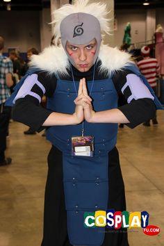 Senju Tobirama Cosplay from Naruto in Anime Central 2013 US