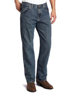 Coolred-Men Slim-Tapered Rugged Wear Casual Juniors Oversized Cowboy Jean