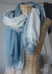 Hand woven Cashmere scarves are made from Chianti Cashmere Goats that  freely roam the Tuscan hillsides 73ab0c6f88f2