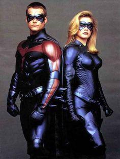 Robin / Dick Grayson & Batgirl / Barbara Wilson - Chris O'Donnell & Alicia Silverstone - Batman & Robin 1997