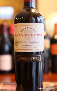 Concha y Toro Gran Reserva Serie Riberas Malbec 2011 - Smooth, Complex and Delicious. BULK BUY!  100% Malbec from Chile.  http://www.reversewinesnob.com/2013/08/concha-y-toro-gran-reserva-malbec.html #wine