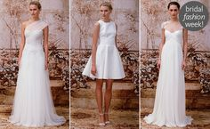 Monique Lhuillier  Fall 2014 Wedding Dresses.