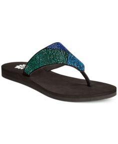 371acec56 Yellow Box Sam Flip Flops   Reviews - Sandals   Flip Flops - Shoes - Macy s