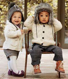 Muito estilo pra se proteger do frio.