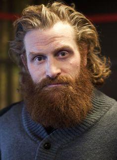 Tormund Giantsbane - Kristofer Hivju - Game of Thrones - Beard - Portrait - Face