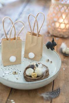 Easter Bunny Bag DIY I Ostern, Ostertüte, Osterhase, Verpackung