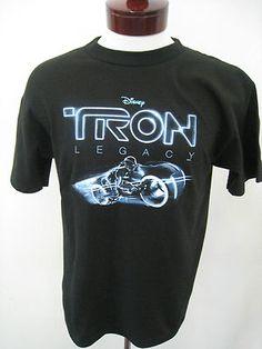 Disney TRON LEGACY Promo Daft Punk Music Soundtrack T-Shirt Tee Sz M NEW
