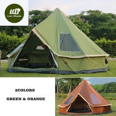 """HOT PRICES FROM ALI - Buy """"High quality person Mongolia yurt family travel hiking anti mosquito sun shelter awning canopy beach outdoor camping tent"""" for only USD. Family Tent, Family Camping, Tent Camping, Camping Hacks, Outdoor Camping, Camping Ideas, Family Travel, Bell Tent Glamping, Camping Storage"""