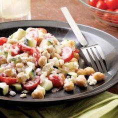 Chickpea Salad - EatingWell.com
