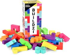 Inspired by Savannah: If Your Family Loves Fast Paced Games, Then You'll Love BUILDZI and PAIRZI - Both from the Creators of TENZI (Review) Fun Party Games, Adult Party Games, Adult Games, Games For Kids, Family Game Night, Family Games, Games For Middle Schoolers, Building Block Games, Team Building