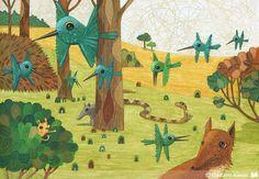 Infantil | Ilustradores Argentinos | La Ilustración Argentina Destacada - Part 67