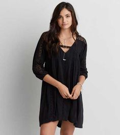 AEO Lace Shift Dress - Buy One Get One 50% Off