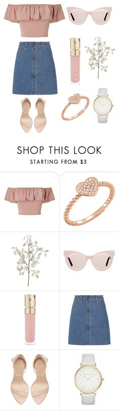 """""""My 8 year old cousin's set"""" by lizabeth-rose ❤ liked on Polyvore featuring Miss Selfridge, Karen Walker, Smith & Cult, Miu Miu, Zara and Laura Ashley"""