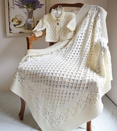 There's something very special about creating something for a newborn baby and baby blankets are a timeless gift you can knit again and again. Leanne Beal