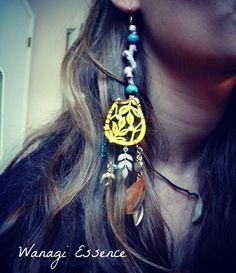 All Wrapped Up in One Earring by WanagiEssence on Etsy, $12.00